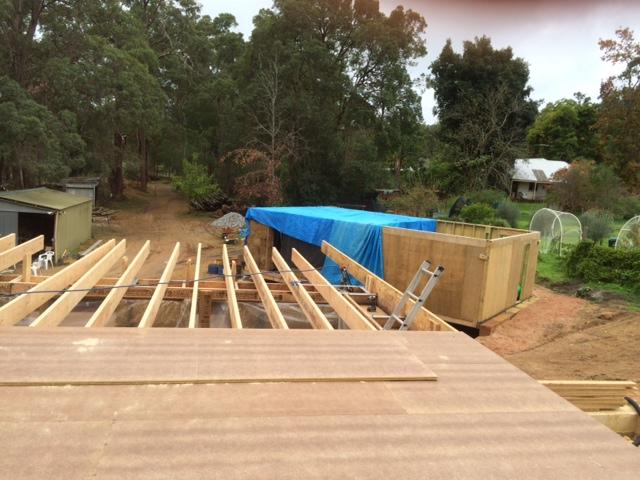 The Loft Perth Hills Strawbale House Blog
